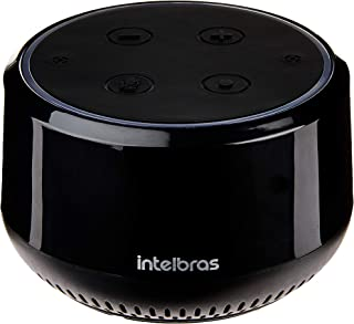 Alto Falante Inteligente Mini Intelbras Izy Speak!, Preto , com Alexa Integrada