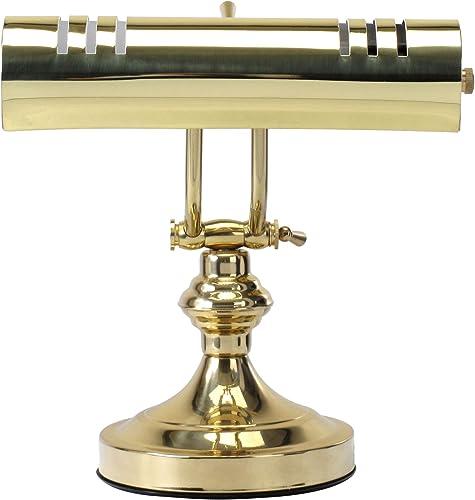 Classic Cantabile L3-A lampe pour piano, 1 flamme, laiton