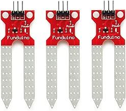 Gikfun Soil Moisture Sensor Soil Humidity Detection Module Automatic Watering System DIY Kit for Arduino (Pack of 3pcs) EK1361x3