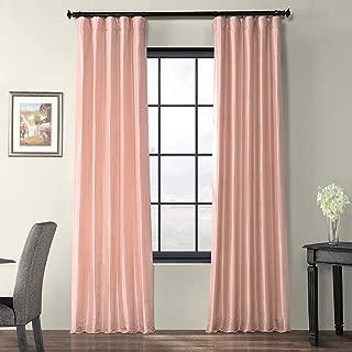 HPD Half Price Drapes PTCH-JTSP180301-108 Curtain, 50 X 108, Salmon Rose