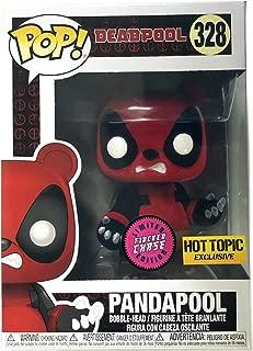 Funko Pop! Marvel Deadpool Pandapool #328 (Flocked Chase)