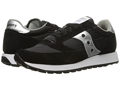 Saucony Originals Jazz Original (Black/Silver) Women