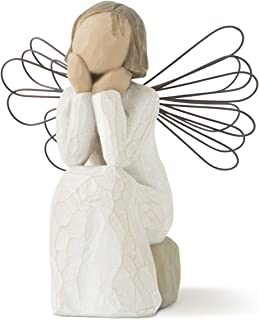 Willow Tree Angel of Caring, sculpted hand-painted figure