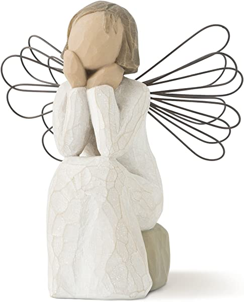 Willow Tree Angel Of Caring Sculpted Hand Painted Figure