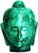 Natural Gemstone Hand Carved Buddha Head Buddha Figurine Statue with Free Authenticity Certificate & EBook About Crystals ...