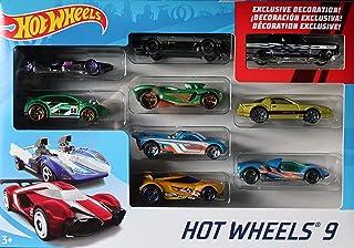 عبوة هدايا من 9 سيارات من هوت ويلز (قد تختلف الانماط)
