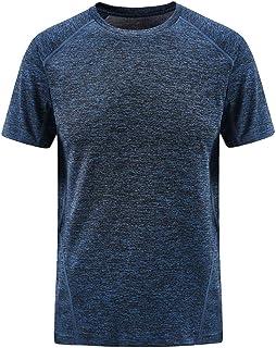 スポーツシャツ メンズ 半袖 トップス 夏 大きいサイズ 通気性 フィットネス tシャツ