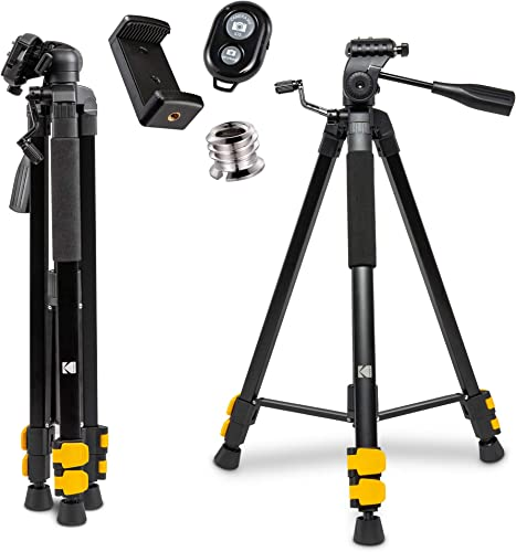 """discount KODAK PhotoGear 62"""" Tripod with Remote 