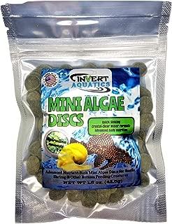 Triton Aquatics Mini Algae Discs - Sinking Diet for Snails, Shrimp & Bottom Feeding Fish