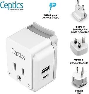Best croatia power adapter Reviews