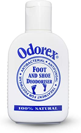 All Natural Deodorant Foot Odour Eliminator for Smelly & Stinky Feet – Fungus & Athletes Foot Prevention   Shoe Deodoriser and Antiperspirant – Odorex Natural - Antifungal, Kills Odour FAST