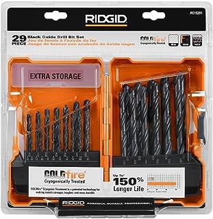 RIDGID Black Oxide Drill Bit 29 Pc. Set