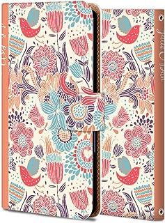 Galaxy Feel ケース 手帳型 ギャラクシー Feel SC-04J カバー スマホケース おしゃれ かわいい 耐衝撃 花柄 人気 純正 WX058-植物-花 フラワー かわいい ファッション 12133682