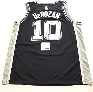 DeMar DeRozan Autographed Jersey - PSA/DNA Certified - Autographed NBA Jerseys