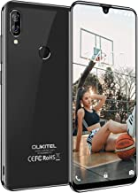 Unlocked Smartphone OUKITEL C16 (2019), Global 3G 5.71 inch Water Drop Screen, Face ID Android 9.0 Unlocked Cell Phones Dual SIM 2GB+16GB Dual Camera 8MP+2MP-Black