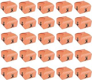 Amosfun 25pcs Halloween Favor Boxes Treat Candy Boxes Gift Boxes Halloween Party Favors Supplies (Yellow)