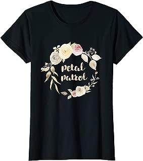 Petal Patrol Flower Girl T Shirt Kids Toddler