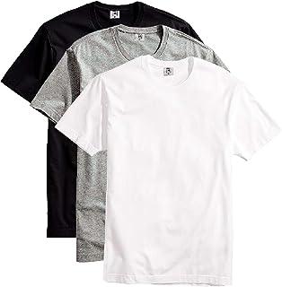 Kit com 3 Camisetas Masculina Básica Algodão Premium