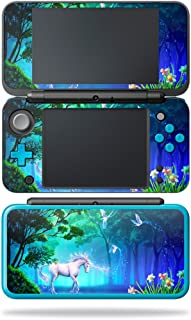 MightySkins Skin Compatible with Nintendo New 2DS XL - Unicorn Fantasy | Protective, Durable, and Unique Vinyl Decal wrap Cover | Easy to Apply, Remove, and Change Styles | Made in The USA