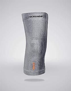 """Best Incrediwear Knee Sleeve, Grey, Large (14""""-16"""" Above Kneecap) Pack of 1 Review"""