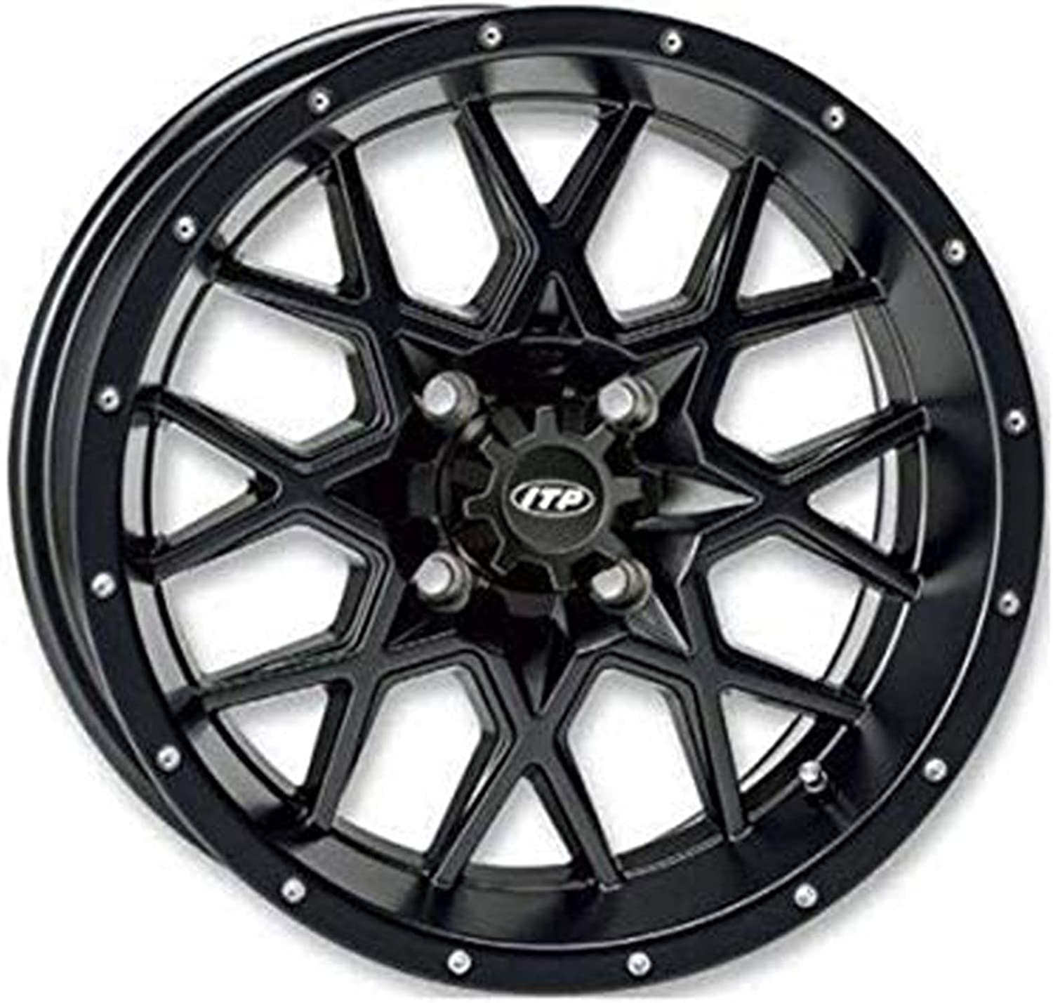 Hurricane Wheel - 16x7-5+2 Special Campaign Offset 4 Matte 201 Black 115 New color Fits