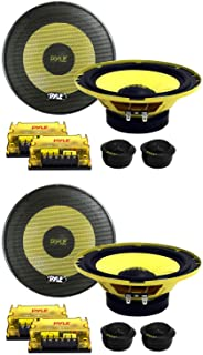 "PYLE PLG6C 6.5"" 800W 2 Way Car Audio Component Speakers Set Power System photo"