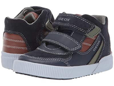 Geox Kids Kilwi 32 (Toddler) (Blue/Brown) Boys Shoes