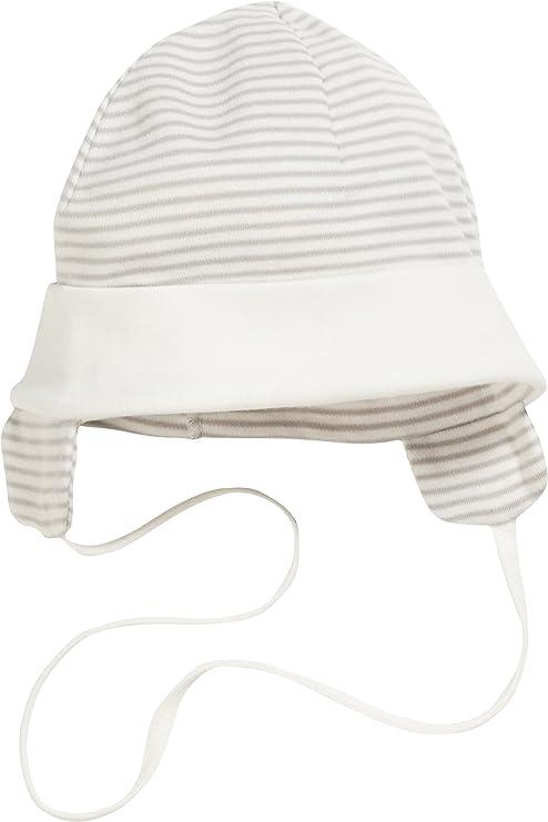 Playshoes Unisex Baby Bindem/ütze mit Ohrenschutz M/ütze