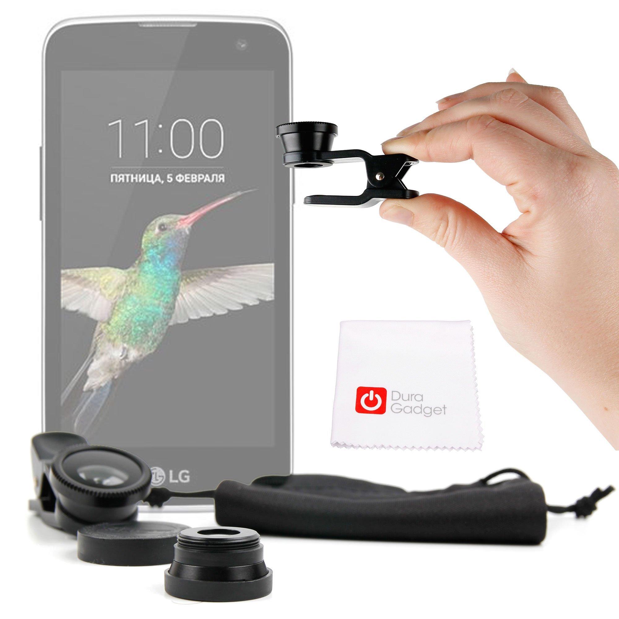 DURAGADGET Kit Lentes 3 EN 1 para Smartphone Xiaomi Redmi 3 / Redmi Note 3 Pro/Mi 4s / Mi 5: Amazon.es: Electrónica