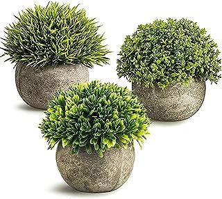 JPSOR 観葉植物 フェイクフラワー フェイクグリーン 造花 トピアリー インテリアボール観葉植物 造花 3個セット