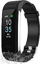 LEBEXY Fitness Armband Wasserdicht IP68 | Fitness Tracker Uhr | Smartwatch Schrittzähler..