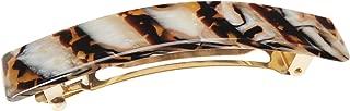 FRANCE LUXE 美国品牌 经典款长条发卡 岩石棕
