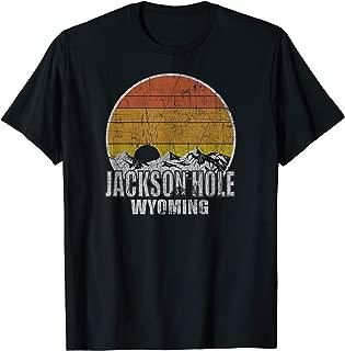 Retro Jackson Hole Wyoming T-shirt