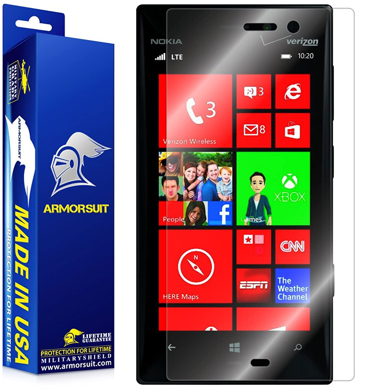 ArmorSuit Nokia Lumia 928 Screen Protector Max Coverage MilitaryShield Screen Protector for Nokia Lumia 928 - HD Clear Anti-Bubble Film