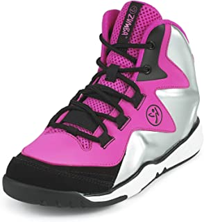 Zumba Energy Boom High Top Athletic Shoes Dance Training Workout Sneakers for Women