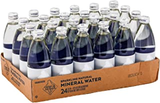 Crystal Geyser Sparkling Natural Mineral Water, 12oz Glass Bottles, 24 Pack, Original Flavor, No Artificial Ingredients, Calorie Free (Pack Of 24)