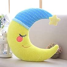 plushy moon pillow