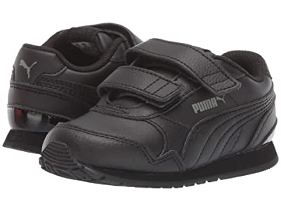 Puma Kids ST Runner v2 L V (Toddler) (Puma Black/Dark Shadow) Kids Shoes