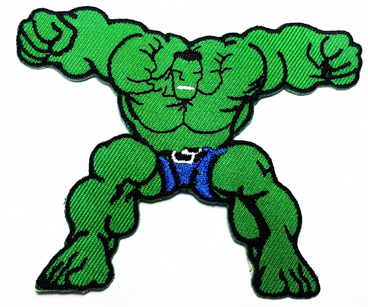 Marvel Comics Avengers The Incredible Hulk Brute Force Fist logo patch Jacket T-shirt Sew Iron on Patch Badge Embroidery