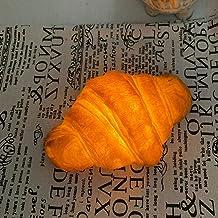 minkissy Croissant nachtlicht brood vorm lamp decoratieve LED tafellamp voor bakkerij winkel venster display kidskamer hui...