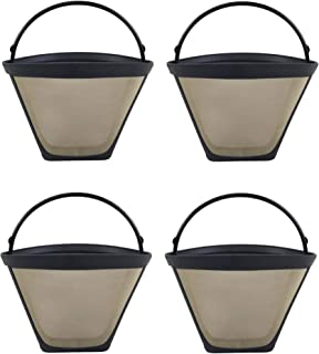 Crucial Coffee Cone Filter Replacement Part For Coffee Filter No. 4 - Compatible With Black & Decker, Braun, Cuisinart, Ha...