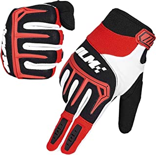 ILM Dirt Bike Motorcycle Gloves Unisex Fit BMX MX ATV MTB Racing Mountain Bike Motocross Outdoor Sports