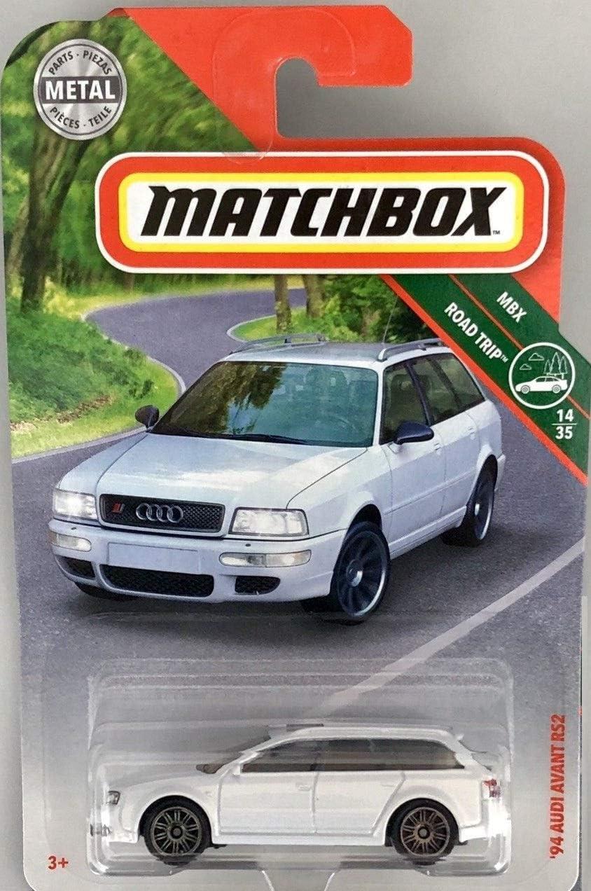 2018 MATCHBOX MBX ROAD-TRIP /'94 AUDI AVANT RS2 PEARL WHITE 20//125