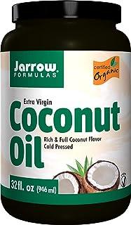 Jarrow Formulas Organic Extra Virgin Coconut Oil Expeller Pressed - 946 ml