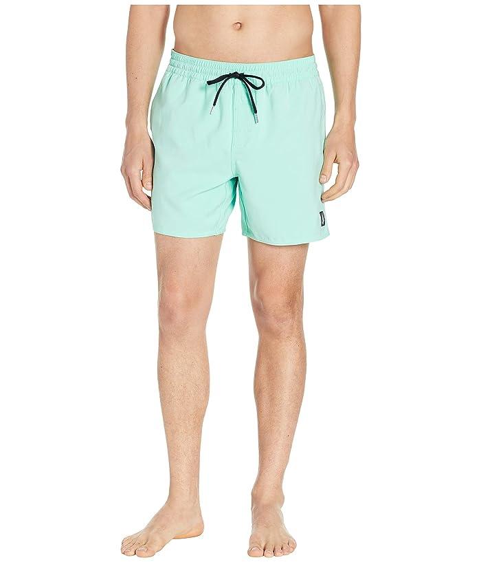 c3c9be37ba Volcom 16 Lido Trunks (Ice Green) Men's Swimwear