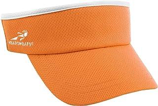 Headsweats Supervisor Sun/Race/Running/Outdoor Sports Visor, Orange, One Size