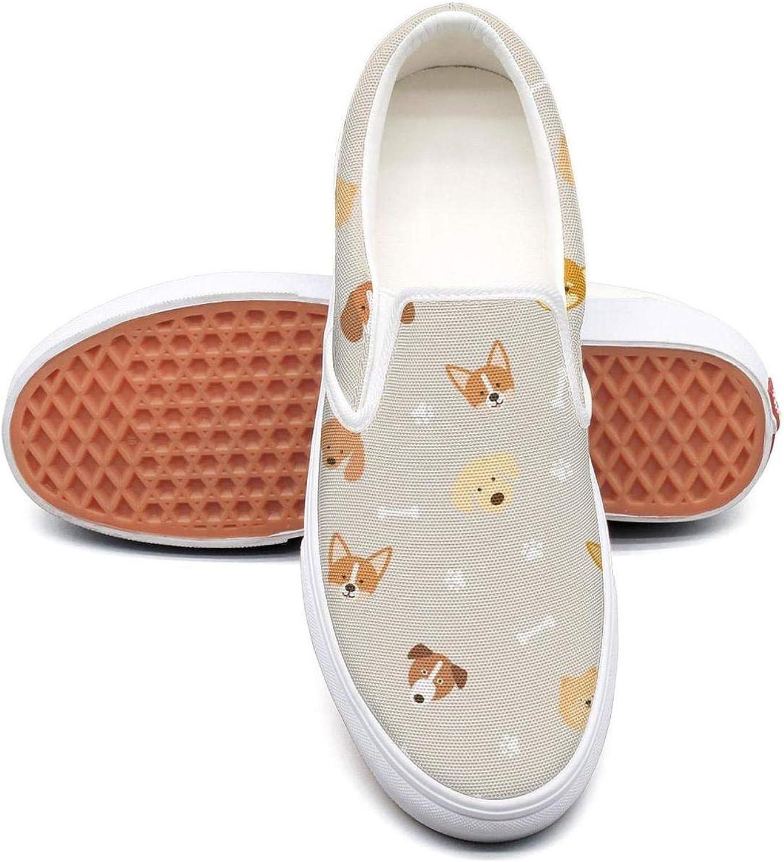 Dutte Lisa Women's Trippy Cat-01 Casual shoes Laces Low Canvas Slip on Sneakers