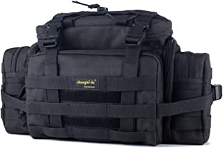 SHANGRI-LA Tactical Assault Gear Sling Pack Range Bag Hiking Fanny Pack Waist Bag Shoulder Backpack EDC Camera Bag MOLLE Modular Deployment Compact Utility Military Surplus Gear Heavy Duty with Shoulder Strap