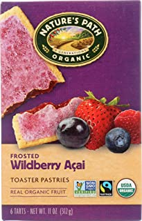 Nature's Path (NOT A CASE) Organic Frosted Toaster Pastries Wildberry Acai