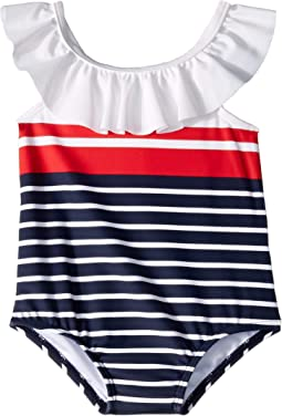 Striped One-Piece Swimsuit (Infant)